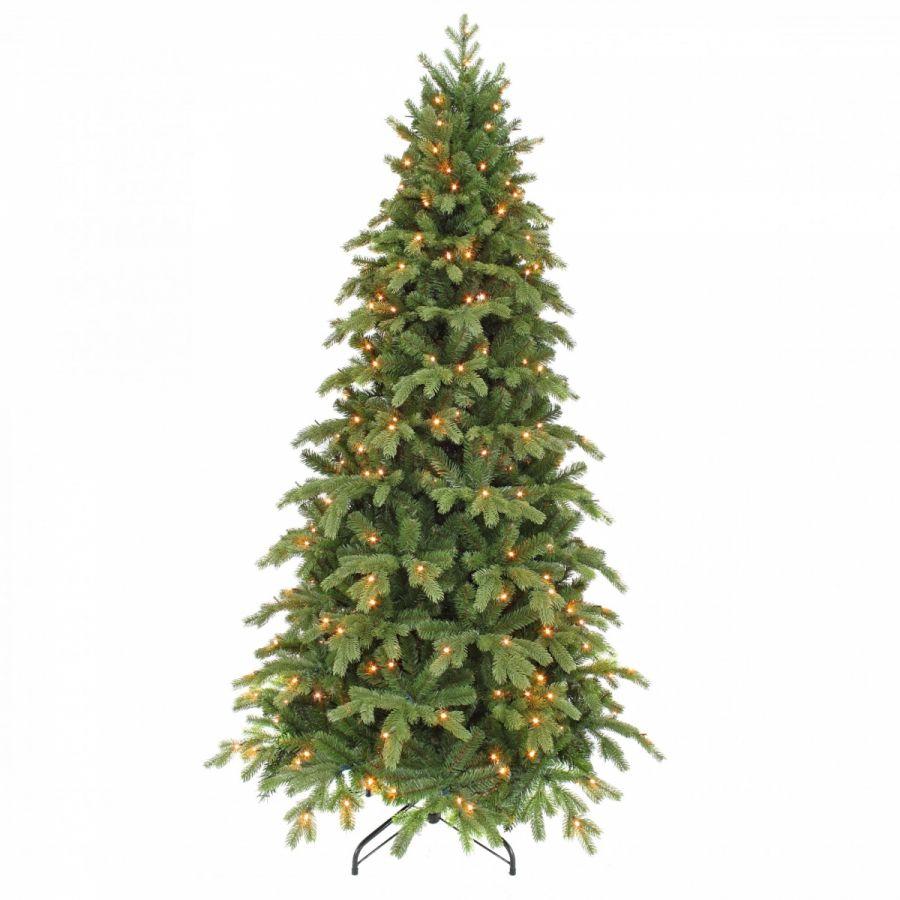 Искусственная елка Шервуд премиум стройная 120 см 88 ламп зеленая