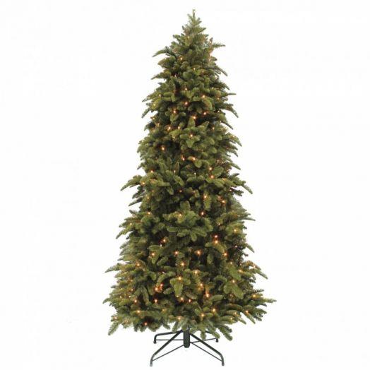 Искусственная елка Нормандия стройная 120 см 96 ламп темно-зеленая