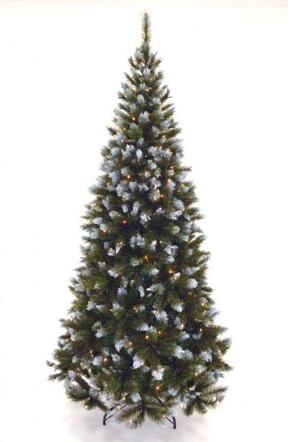 Искусственная елка Женева 230 см 264 лампы заснеженная