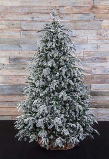 Искусственная елка Стильная 230 см заснеженная