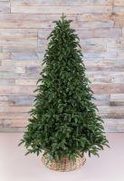 Искусственная елка Нормандия пушистая 260 см темно-зеленая
