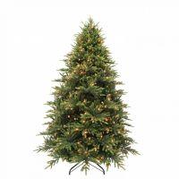 Искусственная елка Королевская премиум 215 см 320 ламп зеленая