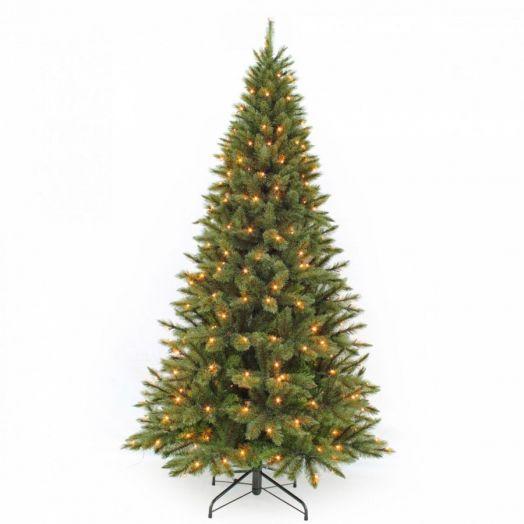 Искусственная елка Лесная Красавица стройная 260 см 360 ламп зеленая