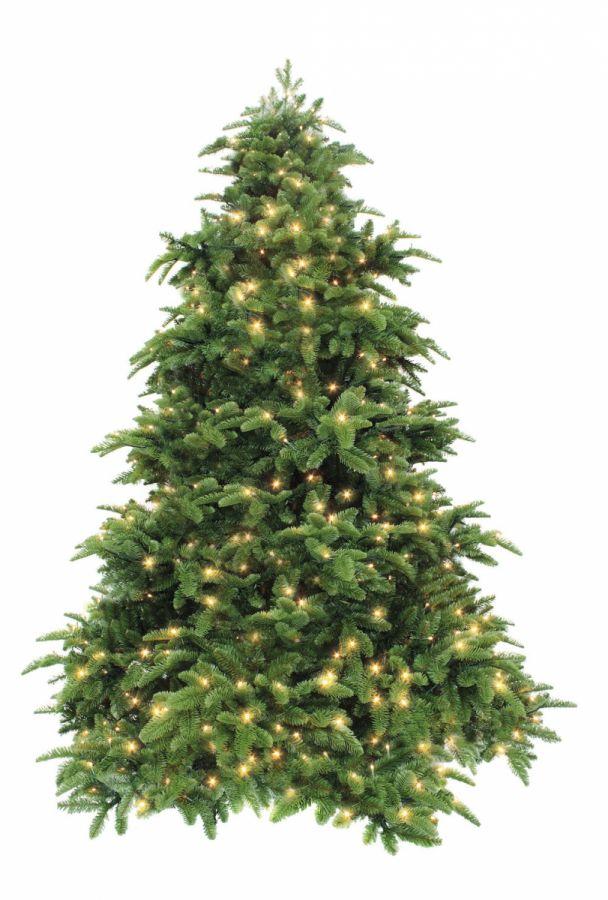 Искусственная елка Нормандия 215 см 400 ламп темно-зеленая