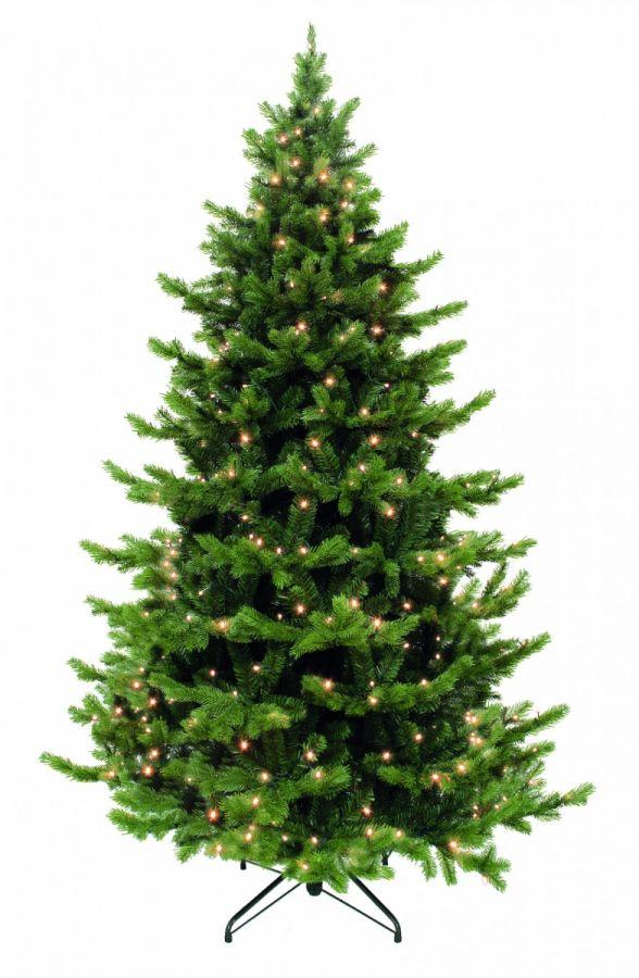 Искусственная елка Шервуд премиум 305 см 864 ламп зеленая