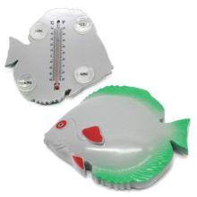 Термометр оконный на присосках Рыба