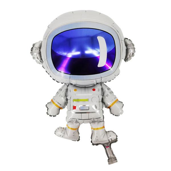 Космонавт шар фольгированный с гелием