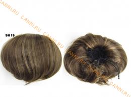 """Искусственные термостойкие волосы - Шиньон """"Бабетта"""" #9H19, вес 80 гр"""