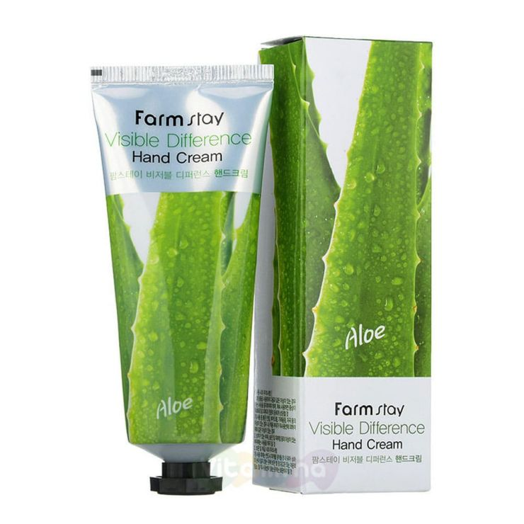 FarmStay Крем для кожи рук Visible Difference Hand Cream, 100 мл