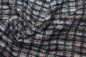 Костюмная ткань жаккард букле VT-10294/C#3