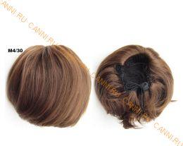 """Искусственные термостойкие волосы - Шиньон """"Бабетта"""" #M4/30, вес 80 гр"""