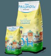 Наш Рацион Сухой корм для взрослых собак с индейкой, 15 кг