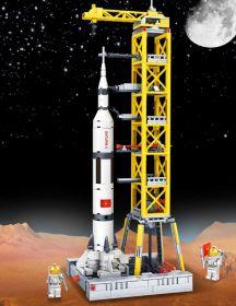 Конструктор Ракета с пусковой платформой Lego реплика 425 деталей