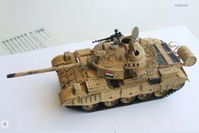Сборная модель основной танк  Т-69 Ирак 1:35
