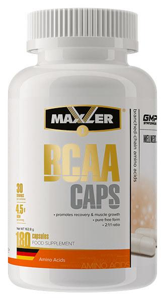BCAA Caps от Maxler 180 капсул