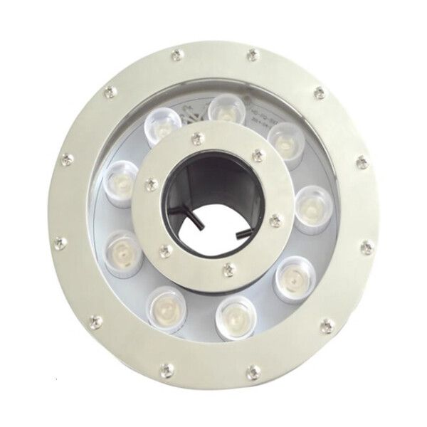 Прожектор LED AquaViva (9led 20W 12V) RGB для фонтана с отв.под форсунку 50мм