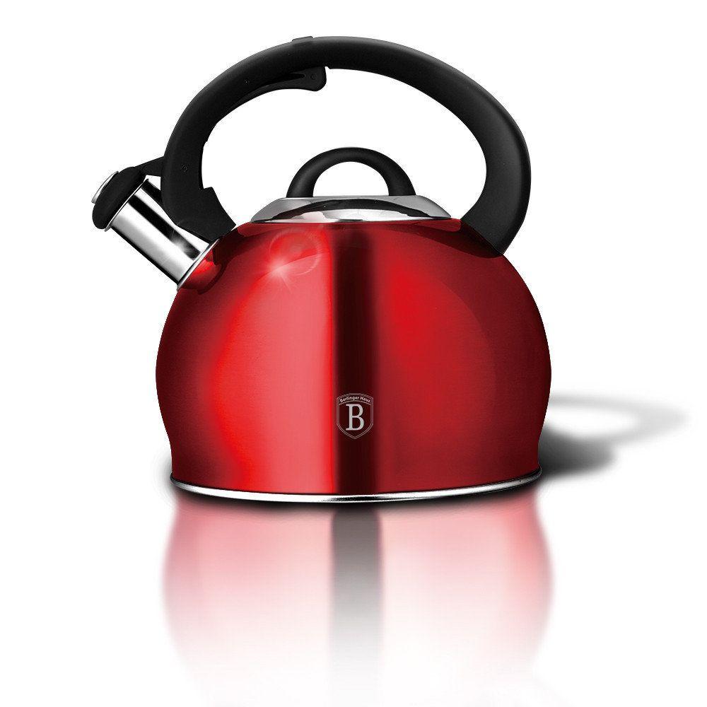 BH-1836 Burgundy Metallic Line Чайник 3,0л.