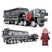Конструктор Лунный транспортный грузовик   Lego реплика 250 деталей