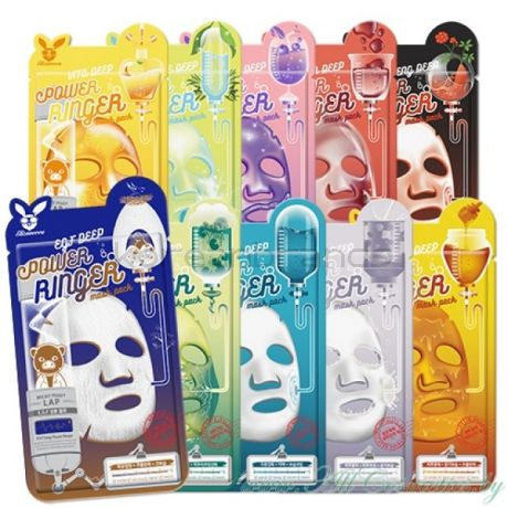 Elizavecca Milky Piggy FRUITS DEEP POWER RINGER MASK PACK