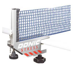 Сетка для настольного тенниса с креплением Donic Stress серый/синий