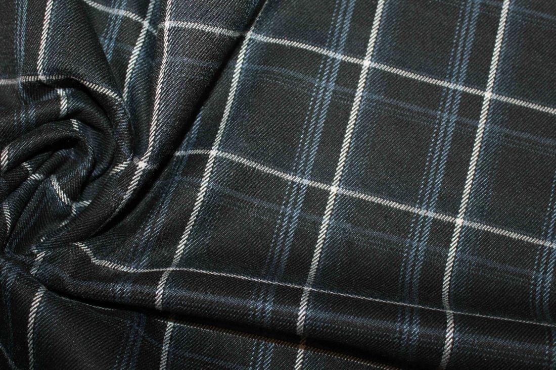Костюмная ткань VT-10253/D1/black/white