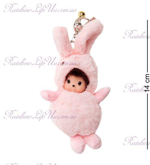 """Брелок """"Малыш в костюме зайца"""""""