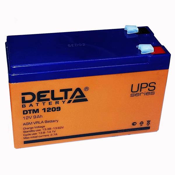 Аккумляторная батарея Delta DTM 1209