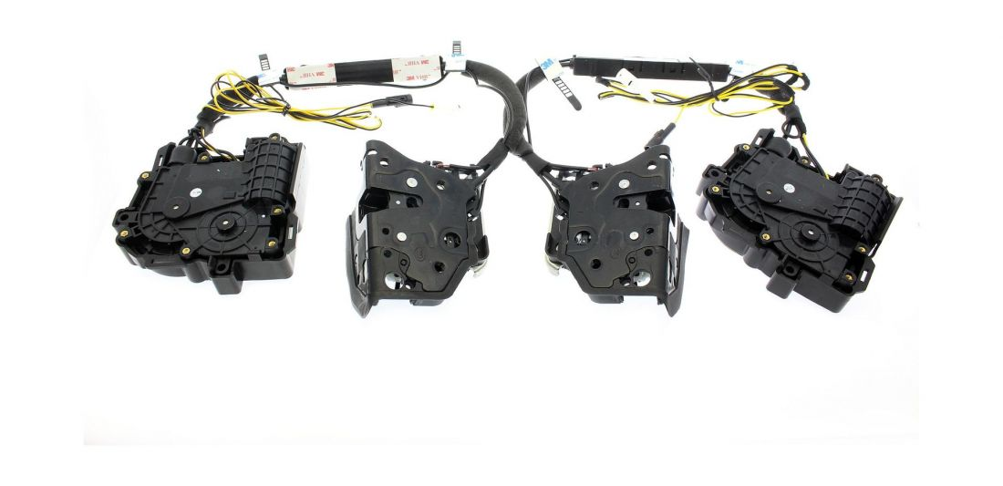 Бесштыревые доводчики дверей для Porsche Impulse XD010F (на 2 передние двери)