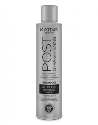 Шампунь поддерживающий и продлевающий эффект выпрямления волос IRON FREE Kativa, 300 мл