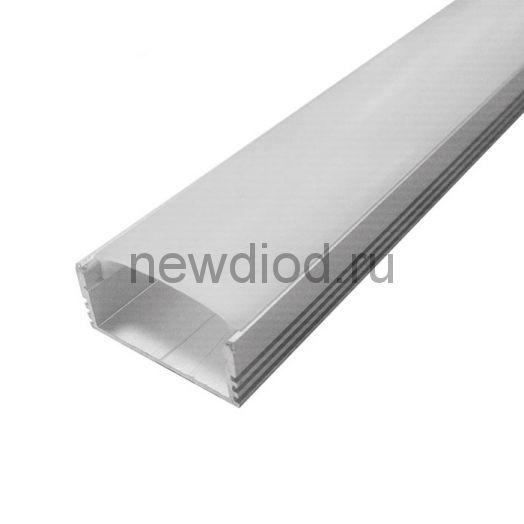 Профиль накладной алюминиевый ST-N 3010 (с рассеивателем) 2000х28х12мм MS