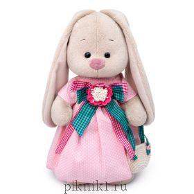 Зайка Ми Розовая дымка 25 см