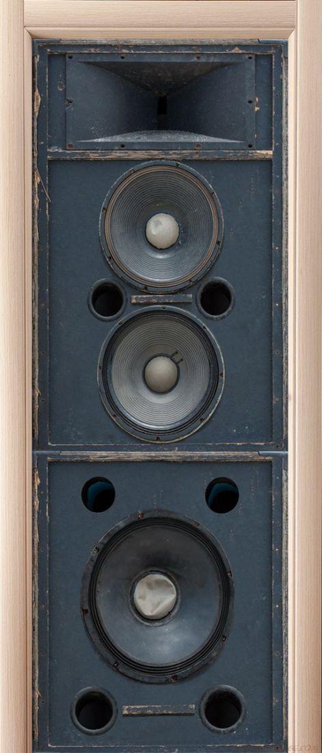 Наклейка на дверь - Источник звука
