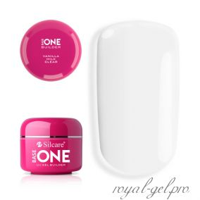 Gel Base One Clear Vanila Milk Silcare 5 гр