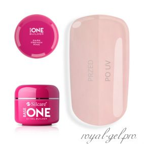 Gel Base One Dark French Pink Silcare 5 гр