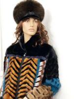 Кепка женский меховой на зиму купить фото