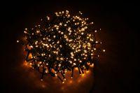 Гирлянда Luca Lighting теплый свет (370 ламп, длина гирлянды 740 см) для ёлки 120-155 см