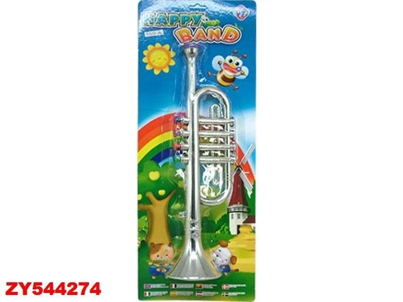Музыкальный инструмент игровой  труба 50*19*8 см