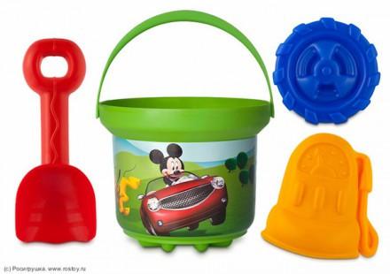 "Песочный н-р ""Disney"" 1л Микки CARS"