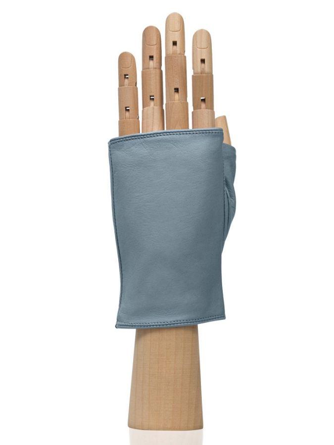 Женские перчатки без пальцев ELEGANZZA