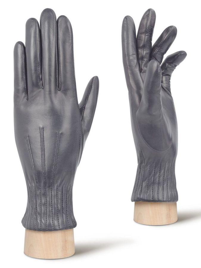 Перчатки женские кожаные ELEGANZZA