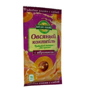 Коктейль овсяный с абрикосом, 25 гр
