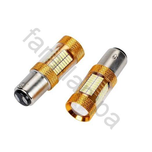 Автомобильные светодиодные лампы двух контактная цоколь 1157 (P21/5W)