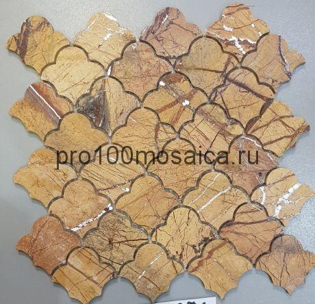 KA110 Мозаика серия Камень размер чипа 65*60, мм: 270*270*7 (Happy Mosaic)