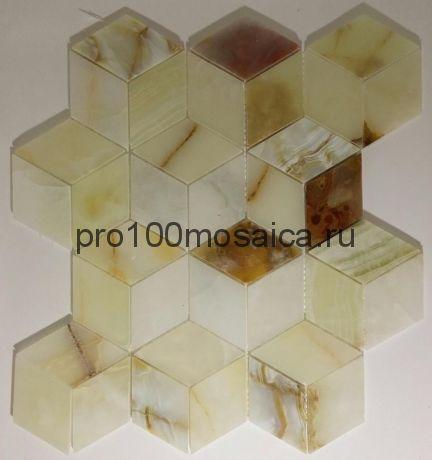 KA31 Мозаика серия Джейд, чип 55*55, размер, мм: 295*345*8 (Happy Mosaic)
