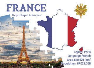 Почтовая открытка Step to France