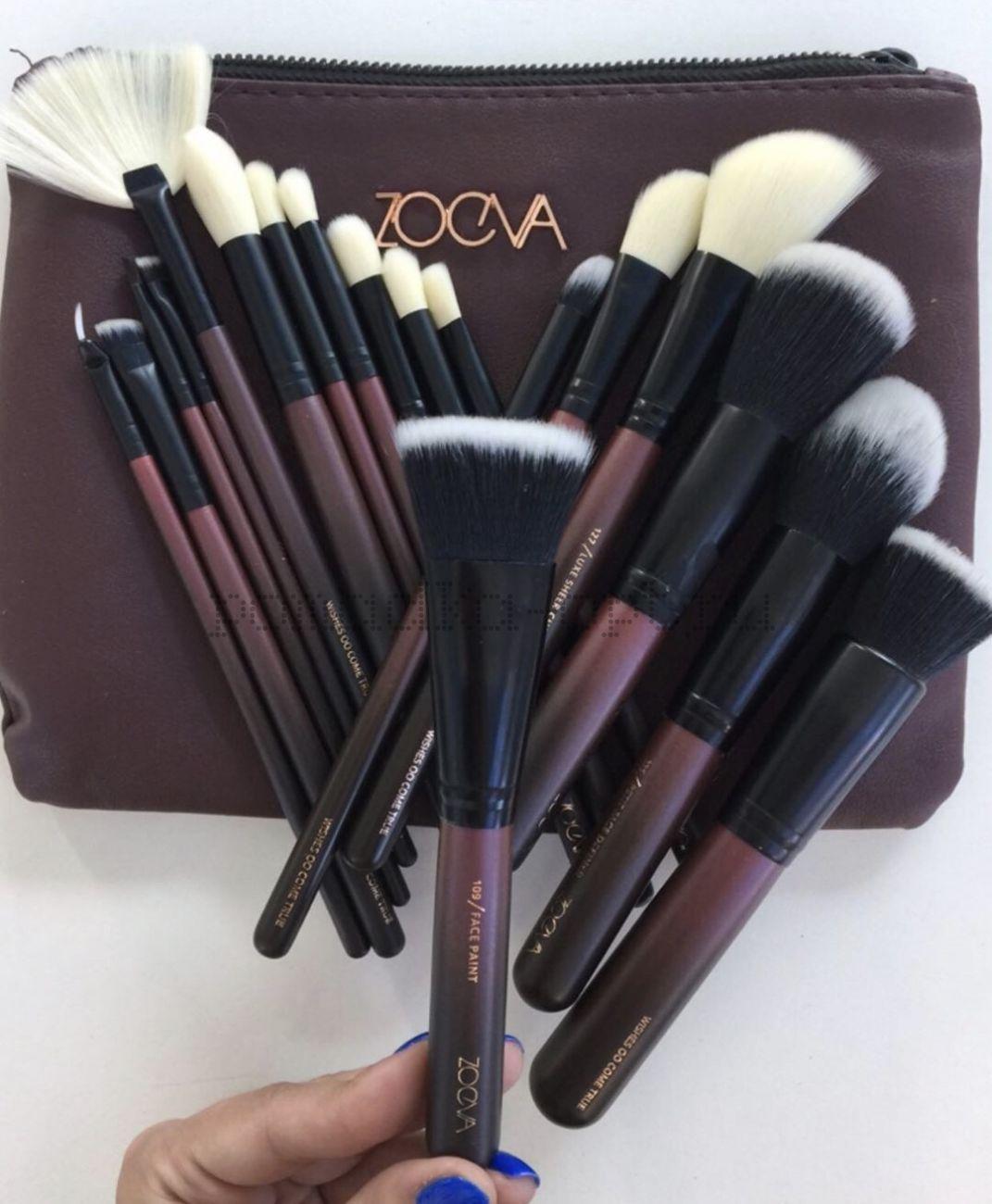 ZOEVA   Opulence Vegan Brush Set   Cult Beauty