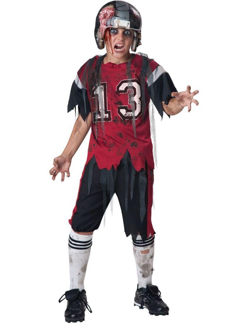 Костюм зомби-регбиста детский