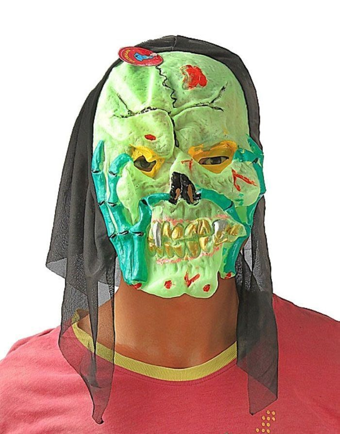 Латексная маска монстра