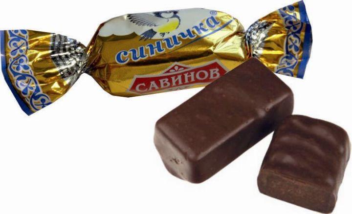 Конфеты Синичка со слив.-шокол.вкусом 1кг Савинов