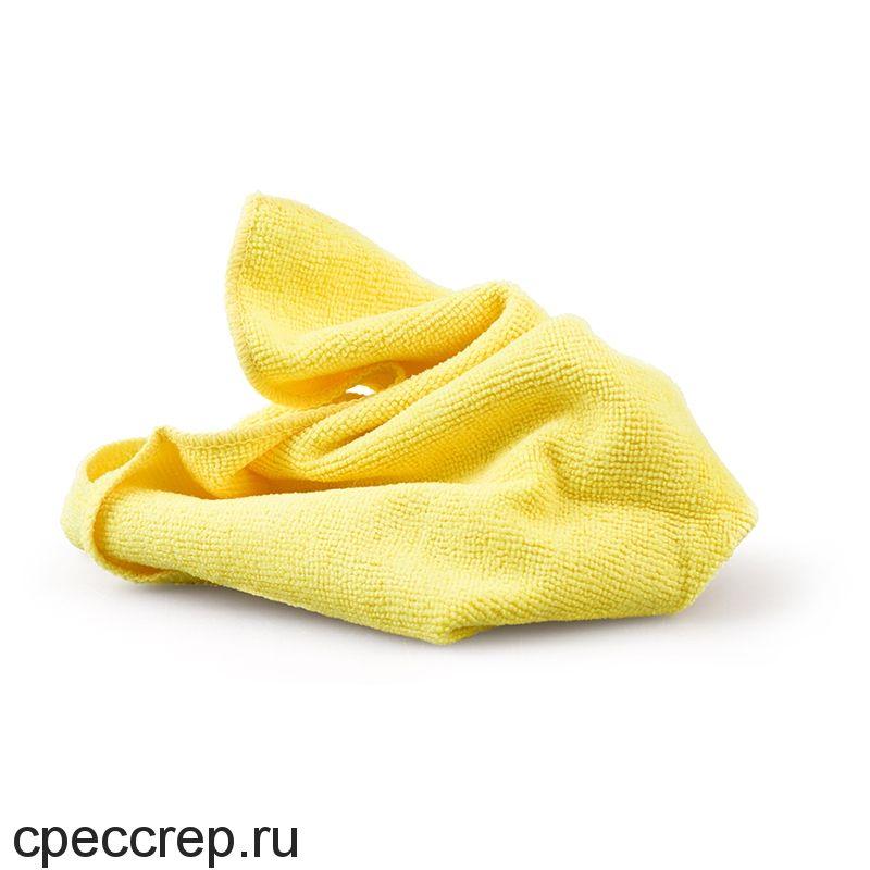 Многоразовая полировальная салфетка MICROSHINE из микрофибры, 40х40см., жёлтая